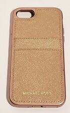 Michael Kors Saffiano Leather Phone Case for iPhone 7 & iPhone 8 - Rose gold