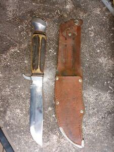 Vintage German Anton Wingen Solingen  Hunting Knife