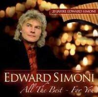 "EDWARD SIMONI ""ALL THE BEST FOR YOU"" CD NEU"