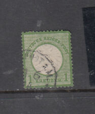 Germany Reich Mi23b dunkelgrun use sound stamp cat550e