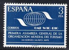 España estampillada sin montar o nunca montada 1975 SG2307 primera asamblea general de la Organización Mundial del Turismo