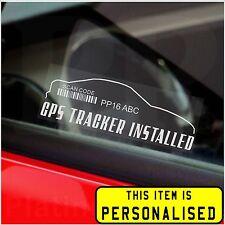 4 X Gps Tracker sistema de seguridad de ventana de alerta stickers-alarm dispositivo sign-car