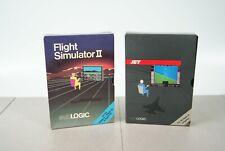 Flight Simulator II + Jet Lot - subLOGIC for Apple II Complete ++