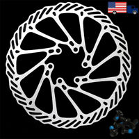 MTB Bicycle Disc Brake Rotor 160/180/203mm 6-Hole Disc Rotor Fit SHIMANO SRAM