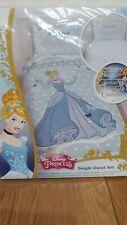 Disney Princess Cinderella Single Duvet Set