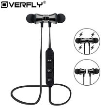 Bluetooth in Ear Headphones XT-11 Magnetic Wireless Headset Bass Beats Gunmetal