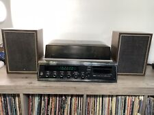 Vintage Sears Model 700 AM/FM, record player and 8 Track Player - MADE IN JAPAN