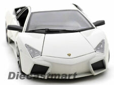 Coches, camiones y furgonetas de automodelismo y aeromodelismo blancos Lamborghini de escala 1:18