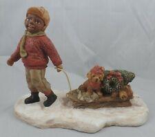 "1992 Enesco Martha Holcombe Figurine ""Eddie"" Miss Martha'S Collection jd01B032"