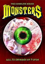 NEW - Monsters - Complete Series