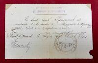 Renoncial 1919 Régiment d'infanterie Compagnie de mitrailleuse Mayence Guerre 14