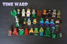 LEGO MINIFIGURE LOT TOY STORY MINIONS NINJAGO MONSTERS MINECRAFT ETC.