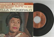"FRENCH EP 45 TOURS ELLA FITZGERALD ""Monsieur Paganini +3"" 1963"
