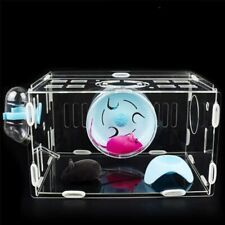 Luxury Hamster Cage Acrylic Combination External Pipe Guinea Pig Tunnel House