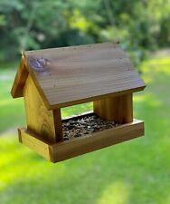 New listing Cedar Bird Feeder