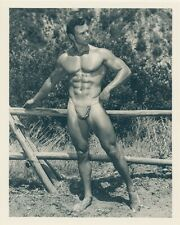 Bruce Of Los Angeles 1950s Physique Photo Gay Male Nude Beefcake Bodybuilder