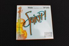 Thomastik Spirit Violin String  Set 4/4 Removable E Ball 1 Day Shipping!