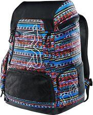 NEW - TYR ALLIANCE 45L Swim Bag Backpack - SANTA FE PRINT