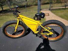 Sondors E-bike - Aluminum frame - Yellow, brand new 10Ah Battery