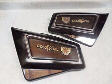 honda goldwing gl 1200 brown left right side cover panel aspencade beige 1984 85
