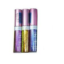3 Shiny Liquid Glitter Eyeliner Makeup Sealed Brand New Sparkling Professional