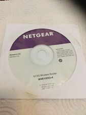 CD SOFTWARE DI INSTALLAZIONE - NETGEAR N150 WIRELESS ROUTER - WNR1000V4 - V 1.0