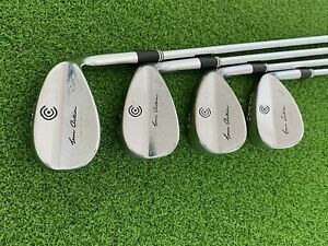USED Cleveland Golf TOUR ACTION REG 588 (4) WEDGE SET 53 56 60 64 Right Handed