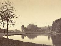 VINTAGE PHOTOGRAPHY MARVILLE FRENCH BOIS BOULOGNE OLD ART PAINTING PRINT BB5000A