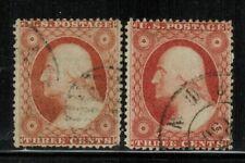 New ListingUnited States #26,26A dull red 1857-61 Used
