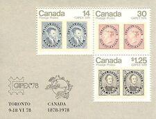 Canada #756a, 1978 $1.69 CAPEX '78, Souvenir Sheet Unused NH