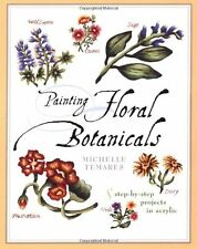 Painting Floral Botanicals, Temares, Michelle, New Book