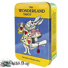 Wonderland Tarot Card Deck by Chris Morgana Abbey in a Collectible Tin