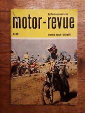 Tschechoslowakische MOTOR REVUE 6 - 1980