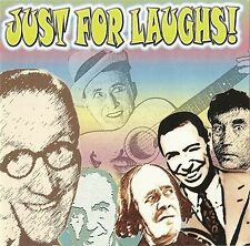 """""""JUST FOR LAUGHS"""" Holloway, Howerd, Askey, Wall, Miller & More - REXX 306 [2 CD]"""