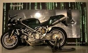 Minichamps 1:12 Ducati 996 Matrix Reloaded