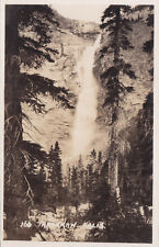 Takakkaw Falls YOHO NATIONAL PARK BC Canada Harmon Real Photo Postcard 166
