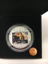 Cook Islands 2013 Liberty Leading People by Delacroix $20 Pure Silver Proof Coin