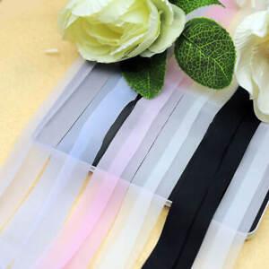Women's Bra Straps  Adjustable Soft Shoulder Straps Silicone - Various Colours