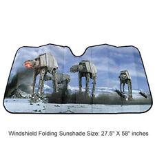 Star Wars Hoth Scene Car Truck Front Windshield Accordion Folding Sun Shade