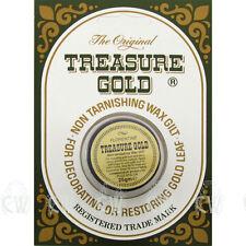 Original Treasure Gold Gilding Wax 25gm FLORENTINE GOLD. Art & Craft Gilding.