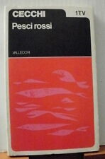 Emilio Cecchi PESCI ROSSI / 1973 ed. Vallecchi TV - 1