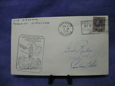 World Wide Stamp Cover Canada Air Mail Toronto Ontario 6/4/1929 #011