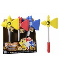 3 X Knights And Warriors EVA Foam Safe Battle Axe Kids Role Play Toys Plays