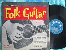 John Pearse Teach Yourself Folk Guitar Saga XID 5503 UK Vinyl LP Album