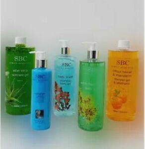 SBC hand hand & bath Shower shampoo massage Gel pump 500ml 1000ml New