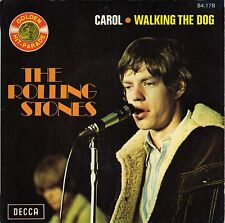 """ROLLING STONES CAROL / WALKING THE DOG FRENCH 45 PS 7"""""""