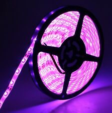Pink LED Strip Light Flexible Tape SMD 5 Meter IP65 60 LEDs Per Meter Waterproof