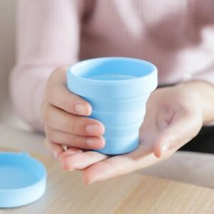 Portable Silicone Folding Cup Outdoor Travel Collapsible Coffee Cups