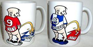 Funny Wee On Bristol Coffee Tea Mug City Rovers Football Shirt Fan Rivalry
