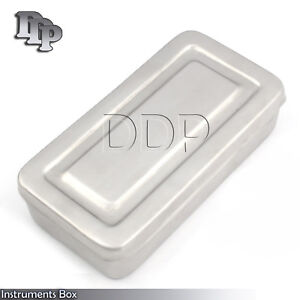 28x14x6 Cm Surgical Instruments Box Stainless Steel High Quality DN-2272